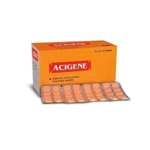 Buy Acigene Orange Tablet