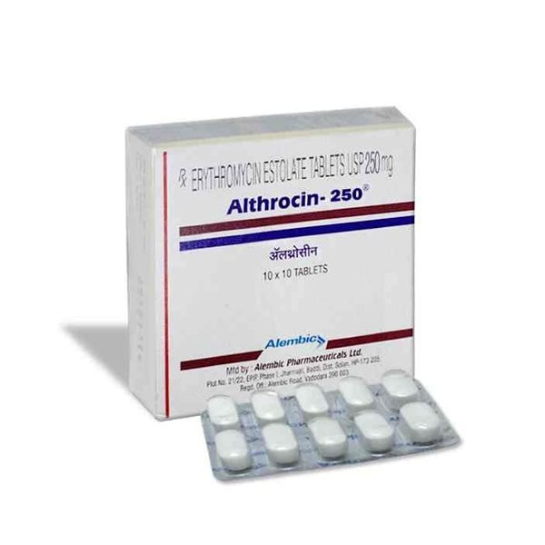 Buy Althrocin 250 Mg