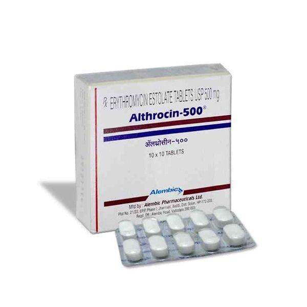 Buy Althrocin 500 Mg