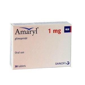 BuyAmaryl 1 mg Tablet