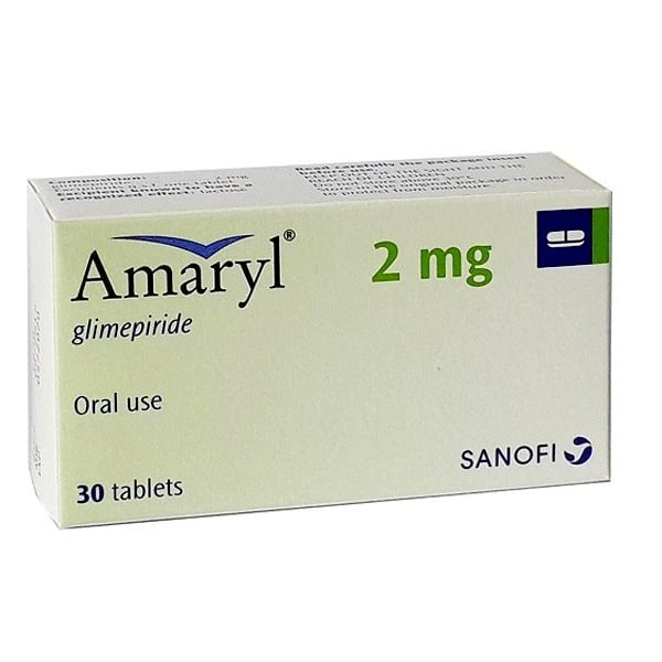 Buy Amaryl 2 mg Tablet