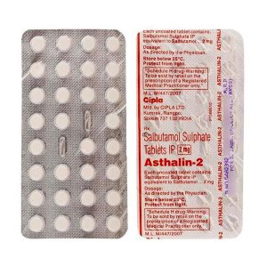 Buy Asthalin 2 Mg