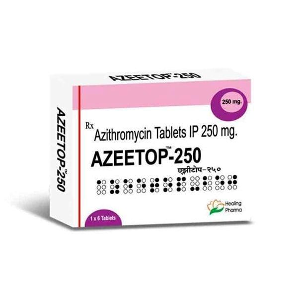 Buy Azeetop 250 Mg