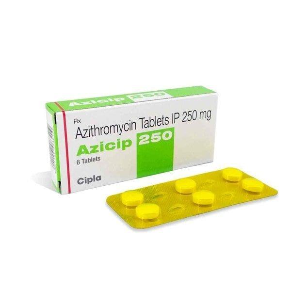 Buy Azicip 250 Mg