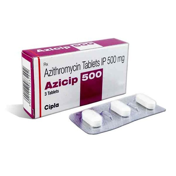 Buy Azicip 500 Mg