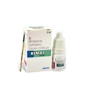 Buy Bimat With Brush Eye Drop