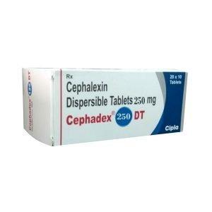 Buy Cephadex Dt 250 Mg