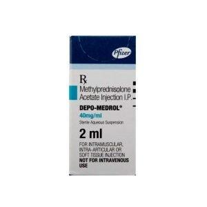 Buy Depo-Medrol 40 Mg Injection (2 Ml)
