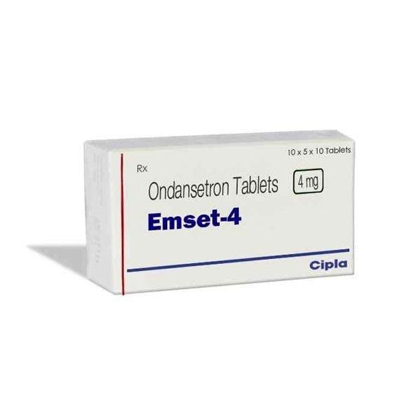 Buy Emeset 4 Mg