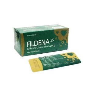 Fildena 25 ED Pill