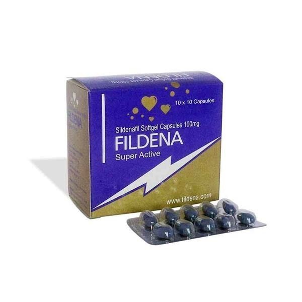 Fildena Super Active ED Pill