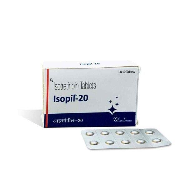 Buy Isopil 20 Mg Tablet