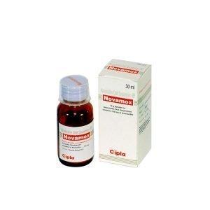 Buy Novamox 125 Mg Dry Syrup