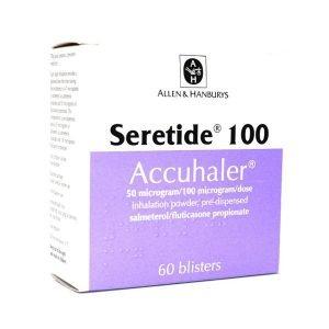 Buy Seretide 50Mcg100Mcg Accuhaler