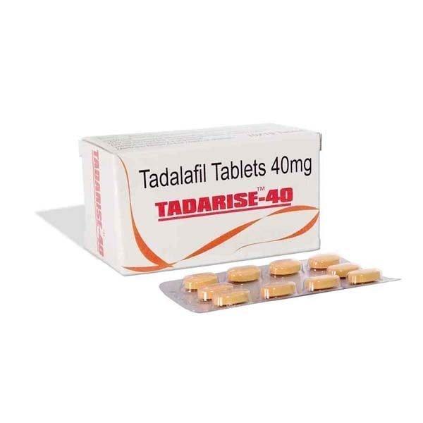 Tadarise 40 ED Pills