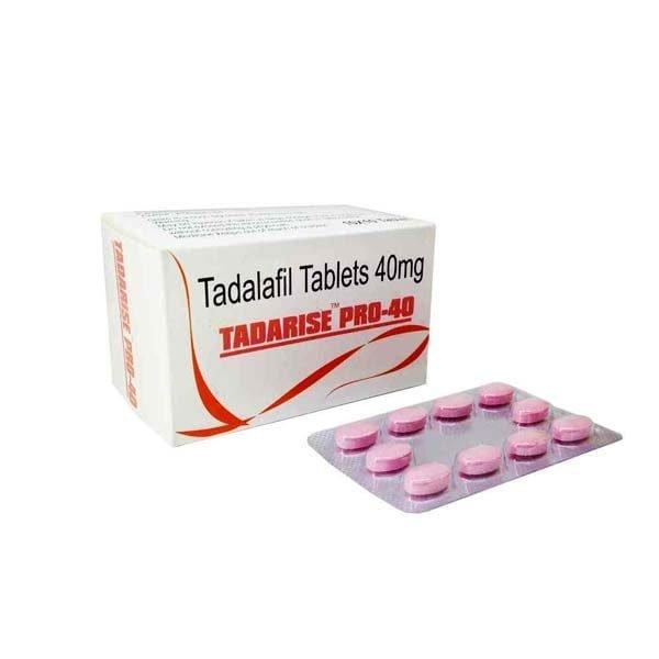 Buy Tadarise Pro 40 Mg