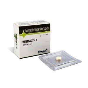 Buy Vermact 6 mg