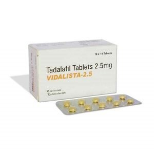 Buy Vidalista 2.5 Mg