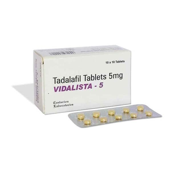 Buy Vidalista 5 Mg