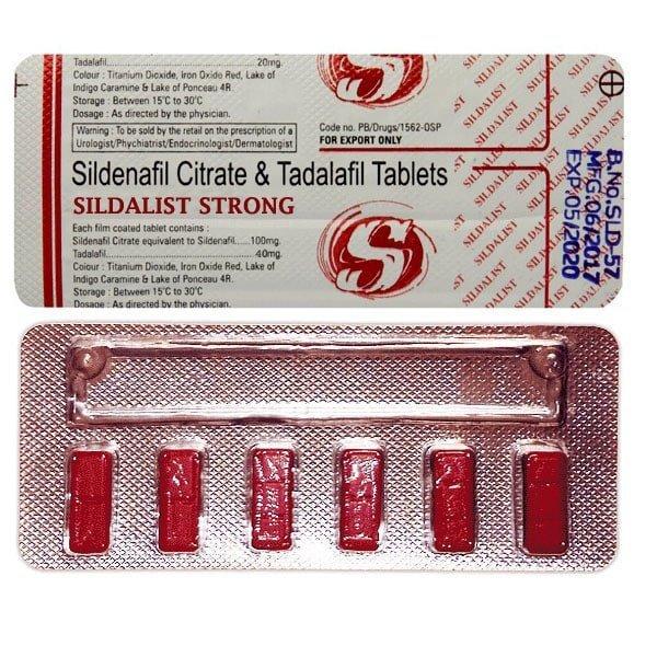 Sildalist Strong 140 Mg